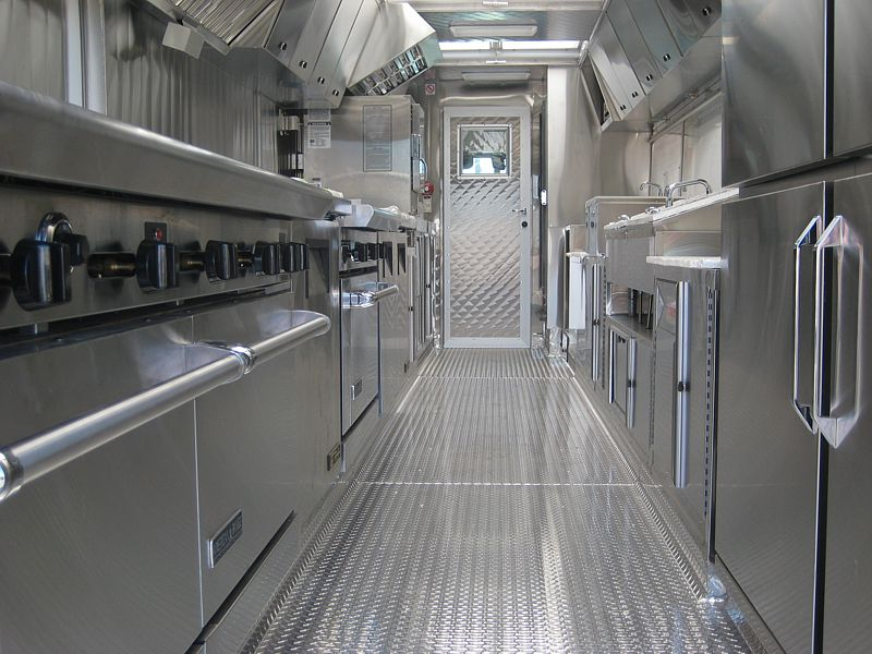 26' Location Catering Truck Interior