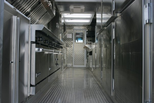 22' Motion Picture Catering Truck Interior