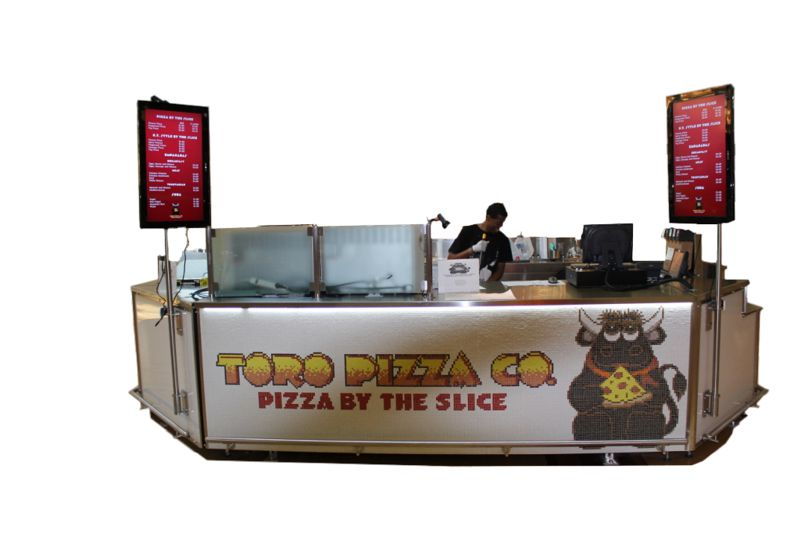 Armenco Modular Pizza, Ice Cream and Soda Fountain Kiosk
