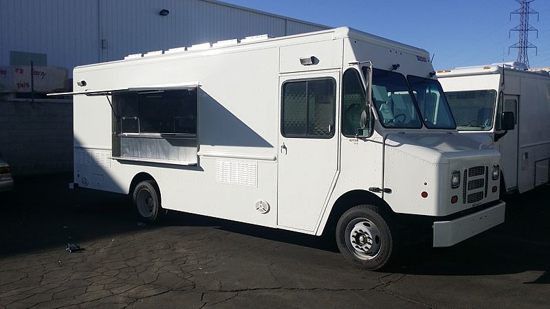 18 Food Truck For Sale Exterior