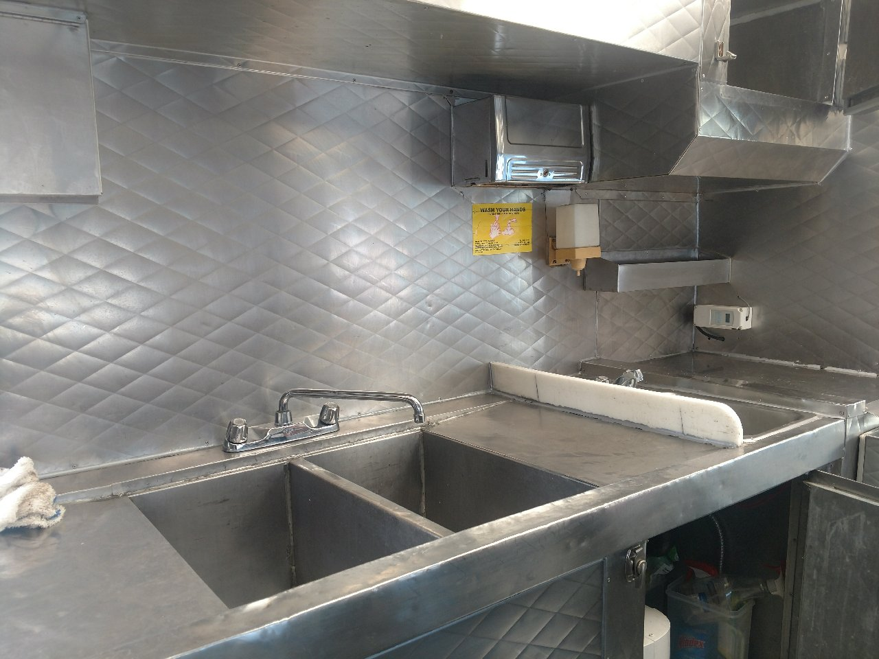 18' Food Truck for Sale Interior