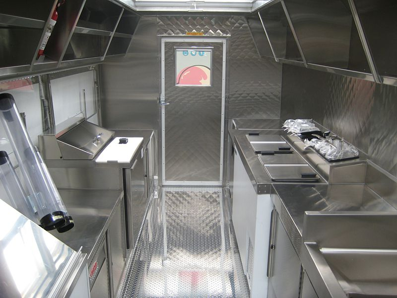 What's Da Scoop Gourmet Ice Cream Truck Interior
